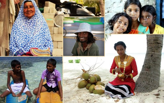 Мальдивы население