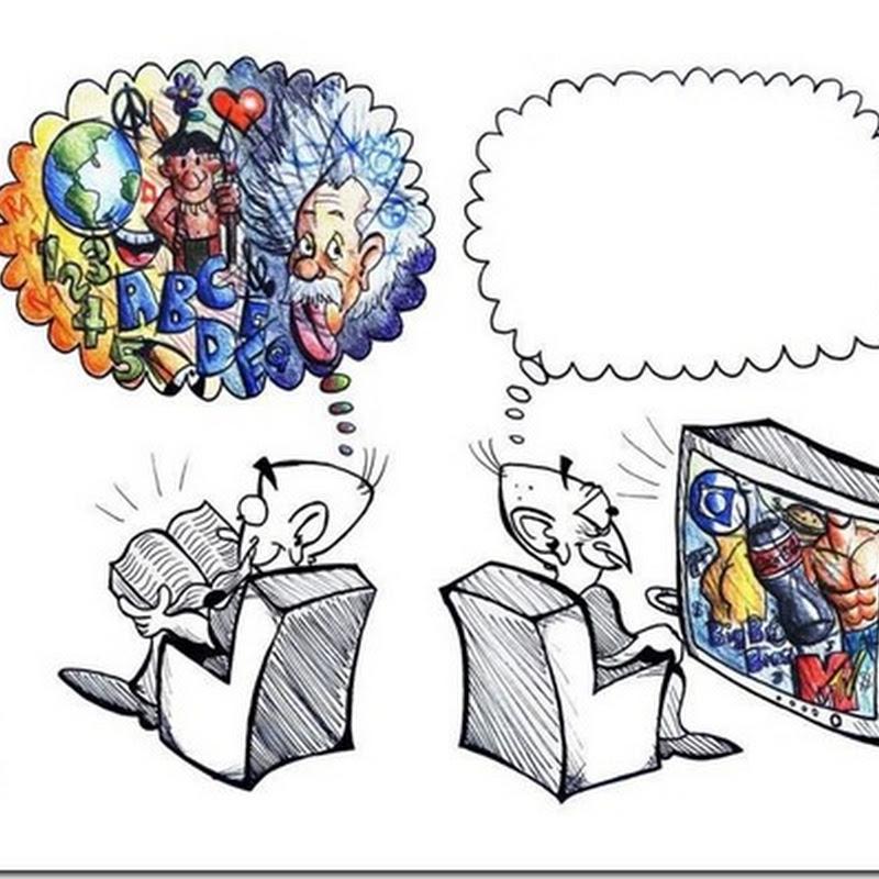 Motive pentru care trebuie să citești cărți (ilustrați)