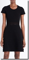 Michael Michael Kors Ottoman Ribbed Jersey Dress