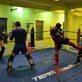 trénink thaibox 2013