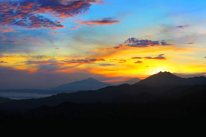 Amazed by the Sunrise in Ciater, Subang, West Java