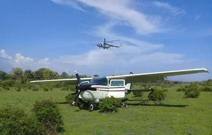 Cae avioneta en Chiapas con media tonelada de droga en Mapastepec, Chiapas