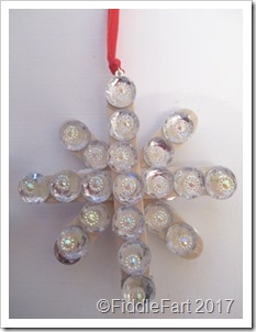 jewelled parcel tag charm