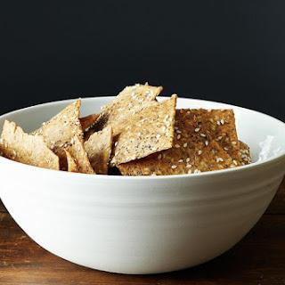 Peter Reinhart's Crispy Rye and Seed Crackers.