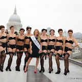 WWW.ENTSIMAGES.COM -        TOWIE fashionista Lydia Bright at Millennium Bridge September 11th 2014The only Way is Essex Star Lydia Bright joins dance troupe in choreographed performance piece for premium mail order clothing retailer Peter Hahn.Lydia and her co-dancers will be descended upon various London landmarks, surprising onlookers with a routine that celebrates 'The Art of Dressing.'  Appearing initially in their undergarments, the dance troupe girls will aim to 'von tease' onlookers with a 'reverse strip' performance as they gracefully don their luxury Peter Hahn garments.  The activity has been devised by the fashion company in a bid to encourage women to give thought to and take pleasure in the ritual of getting dressed.                                                   Photo Mobis Photos/OIC 0203 174 1069