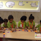 Friendship Day Celebrated by Nursery Morning Section at Witty World, Chikoowadi(2017-18)