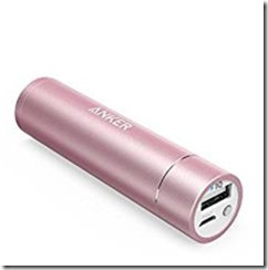 Anker 3500 mAh charger - choice of colours