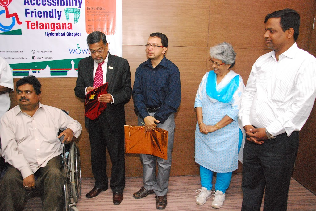 Launching of Accessibility Friendly Telangana, Hyderabad Chapter - DSC_1203.JPG