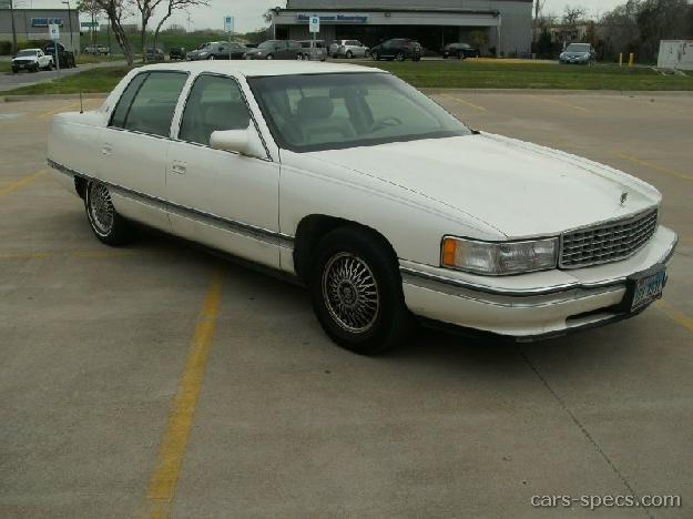 1994 cadillac deville sedan specifications pictures prices. Black Bedroom Furniture Sets. Home Design Ideas