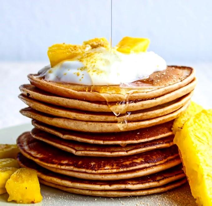 Pina Colada Pancakes Recipe | Breakfast Care