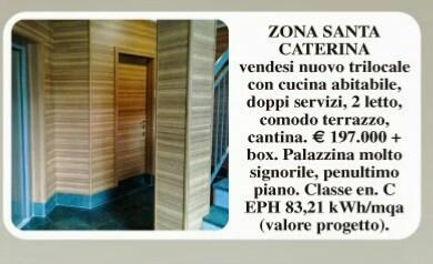 Trilocale nuovo vendita Bergamo Santa Caterina