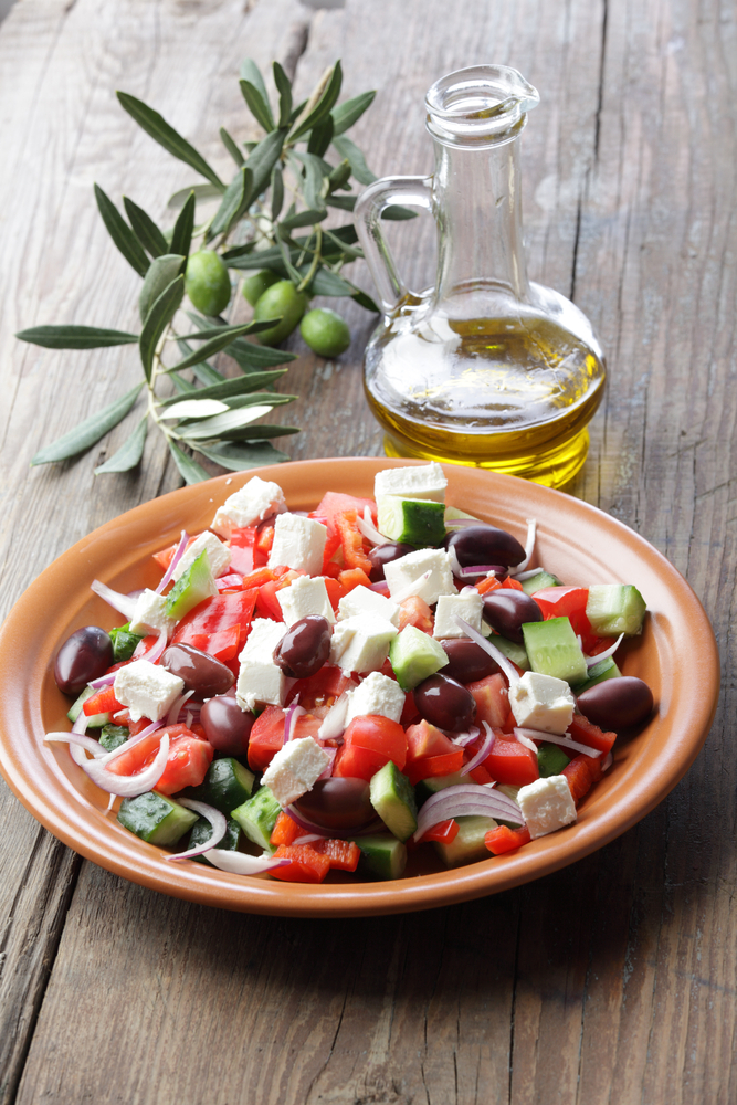 A Mediterranean diet, inspired by menus popular in countries such as Greece, Italy and Spain, has long been said to be good for heart health.