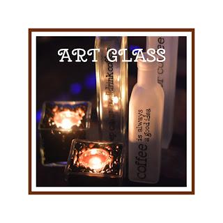 CHAI VẼ THỦY TINH - ART GLASS