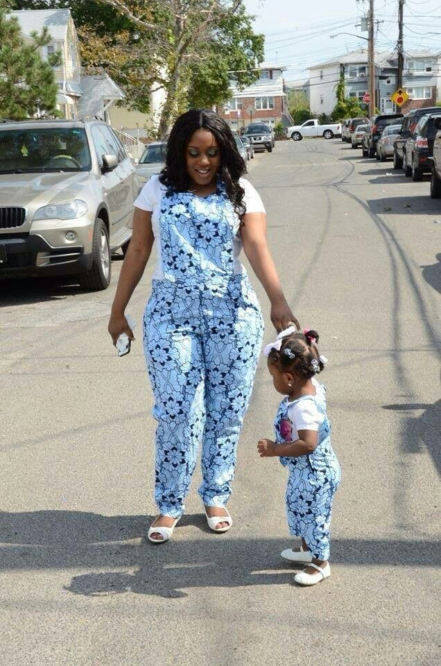 THE ENVIABLE ANKARA LADIES STYLES YOU SHOULD STEAL FROM MUM AND DAUGHTER IN 2018 5