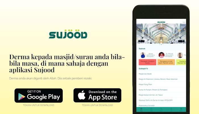 Tabung Digital Sujood Bantu Masjid dan Surau di Malaysia
