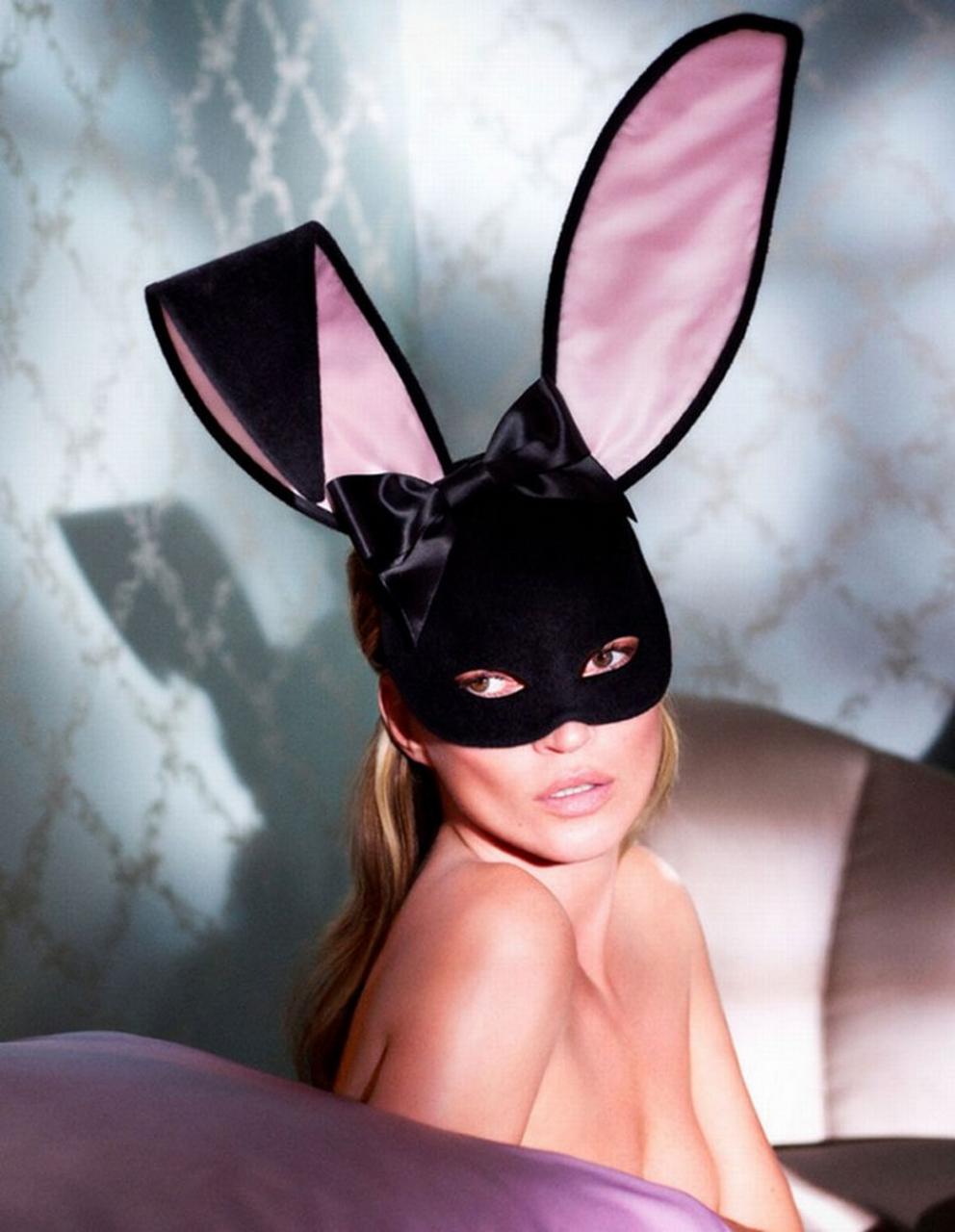 #Playboy 60周年紀念刊:獻上 Kate Moss 兔女郎造型封面 5