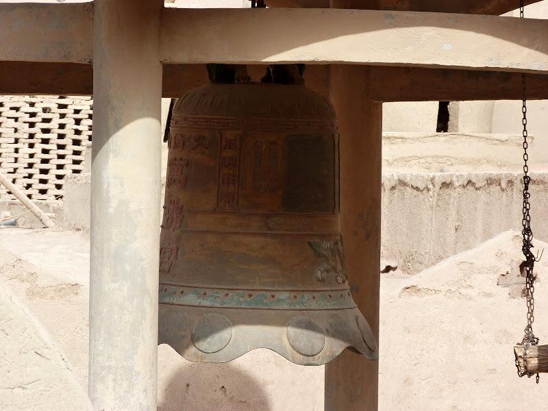 XINJIANG.  Turpan. Ancient city of Jiaohe, Flaming Mountains, Karez, Bezelik Thousand Budda caves - P1270960.JPG