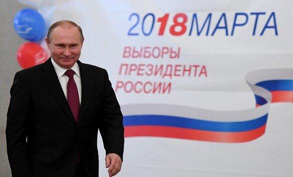 Russie: Poutine confirme sa popularité et remporte la présidentielle-2018