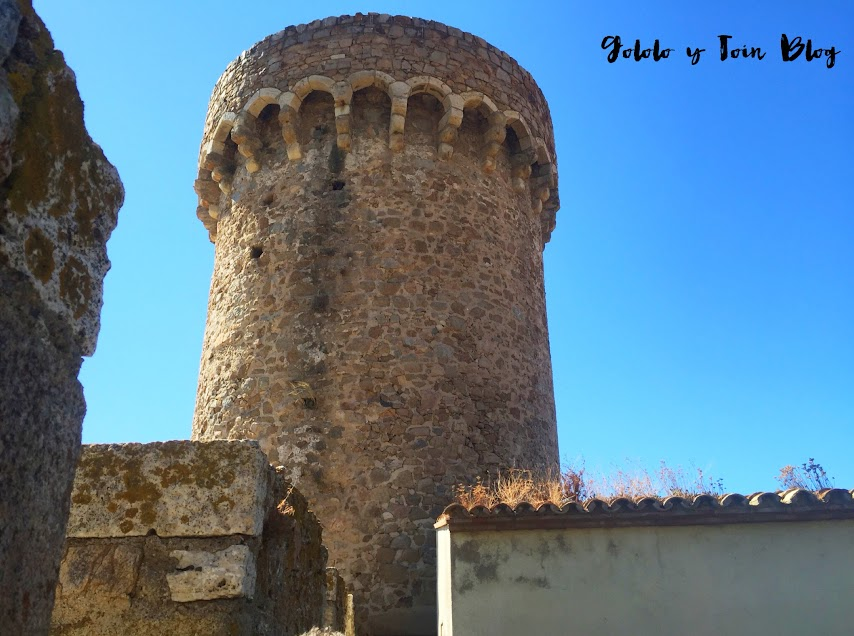 Torres de la fortaleza de Tossa de Mar