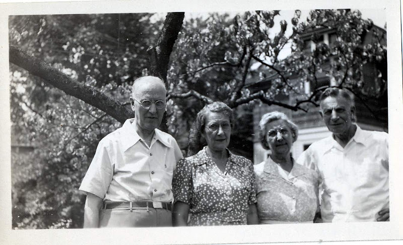 Uncle Fred, Aunt Pearl Beck, Aunt Meal and Uncle Lawrence Fuhrman