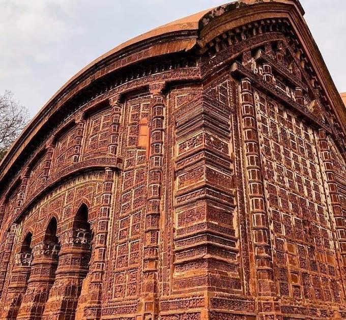 One of the prides of Bishnupur (the city of God Vishnu) in West Bengal. INDIA