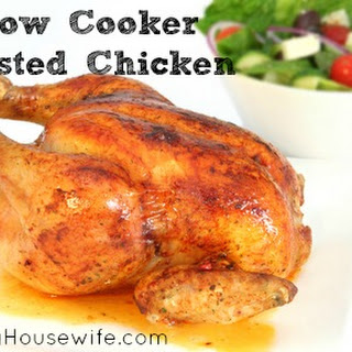 Slowcooker Roasted Chicken.