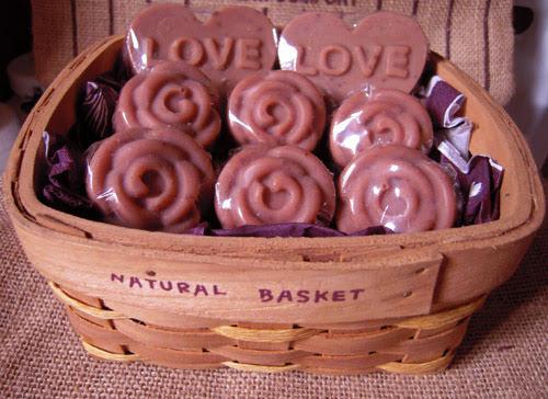 模具造型冷製手工皂5-小朵玫瑰造型