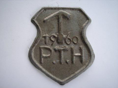 Naam: PTHPlaats: GroningenJaartal: 1960
