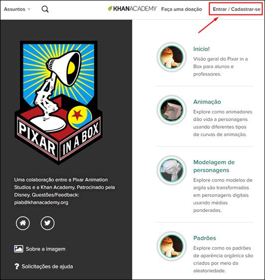 Conheça o curso de animação gratuito da Pixar - em português - Visual Dicas