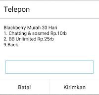 Paket Murah Telkomsel dan Blackberry