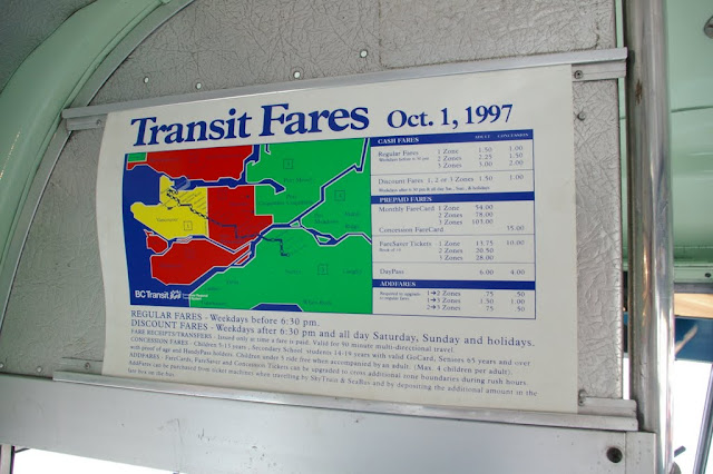 Not too bad of an increase from the 1988 fares.