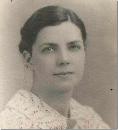 Clara Fitzgerald c 1942