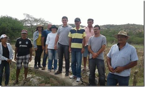 Construção Barragem Malhada Limpa 01