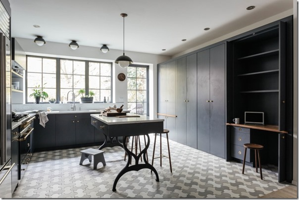 case e interni - stile scandinavo a new york - colore grigio - blu (1)