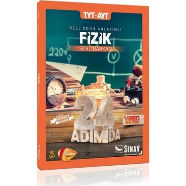 Sınav Yayınları - TYT Fizik - 24 Adımda Soru Bankası