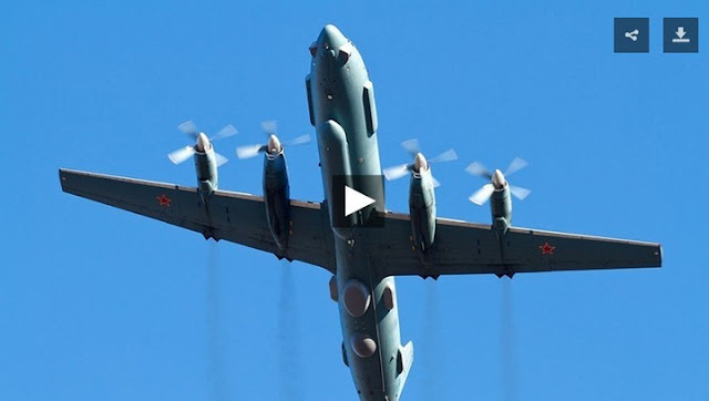 Russian Military Plane With 14 On Board Disappears During Israeli Strikes