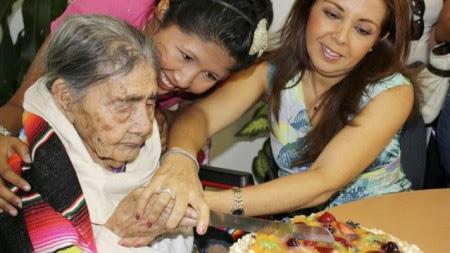 Wanita Asal Meksiko Ini Dinobatkan sebagai Wanita Tertua di Dunia