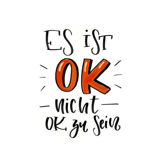 Es ist ok, nicht ok zu sein. Negative Gefühle haben ihre Daseinsberechtigung.