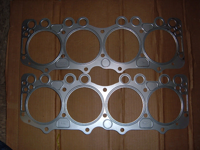Steel head gaskets, when available, start at 95.00  set of 2.