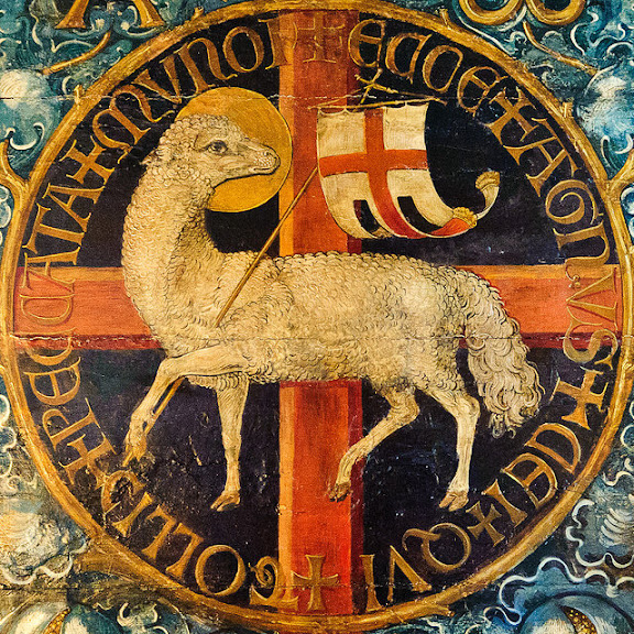 Jesus, the Paschal Lamb - Freising Cathedral
