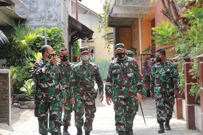 Jelang Penutupan TMMD Sengkuyung Tahap III, Dandim 0734/Kota Yogyakarta Tinjau Lokasi