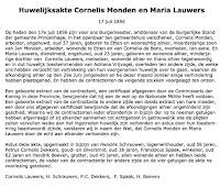 Monden, Cornelis en Lauwers, Maria Huwelijk 17-07-1856 Tekst.jpg