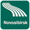 Mappa di Novosibirsk offline