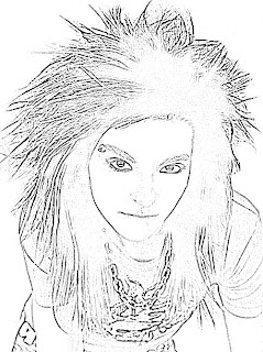 Bill Kaulitz Sketch
