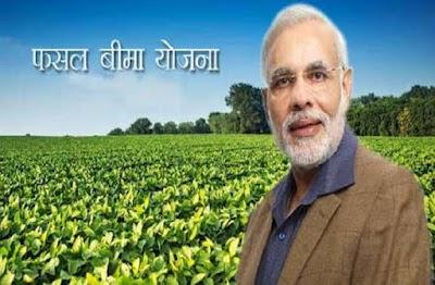 प्रधानमंत्री फसल बीमा में किसान 15 जनबरी तक कराए पंजीयन