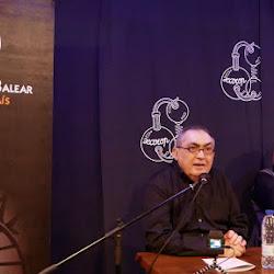 """Miquel López Crespí i Cecil Buele Ramis-Presentació de la novel·la """"Joc d"""