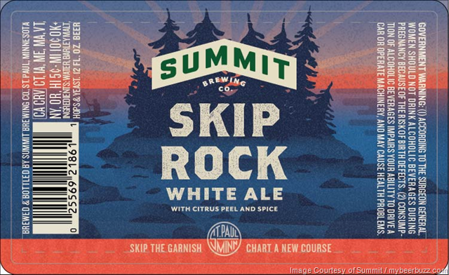Summit Brewing Announces Skip Rock White Ale