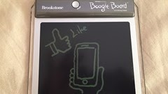 Brookstone Boogie Board を写真で記録する