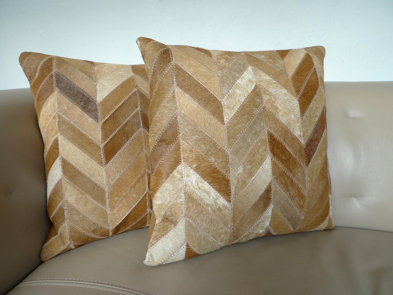 Safavieh Hide Pillow Pair 1