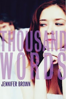 Review: THOUSAND WORDS by Janenifer Brown